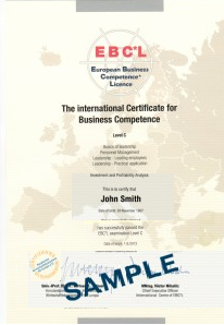 sample certificate C